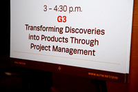 "24. ""Transforming Discoveries into Products Through Project Mgmt."""